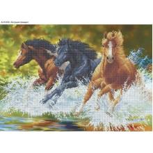 Набір з бісером А2-К-658 Біжать коні