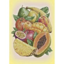Картина з бісером А3-К -1054 Фруктовий настрій