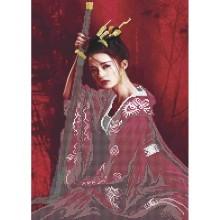 Картина з бісером А3-К-1117 Супутниця самурая