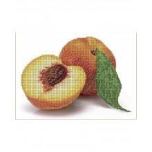 Набір для вишивки бісером А5-Д-074 Персики