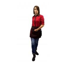 "Сорочка для персоналу ""Tootal"" червона"