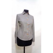 Сорочка для персоналу жіноча в клітку