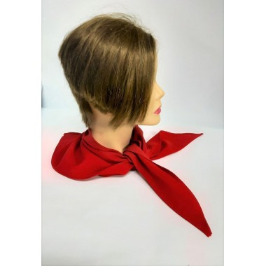 Косинка-краватка, корпоративна хустка червона