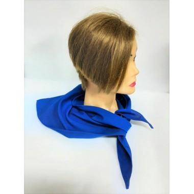 Косинка-краватка, корпоративна хустка синя