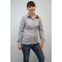 Сорочка жіноча для персоналу сіра