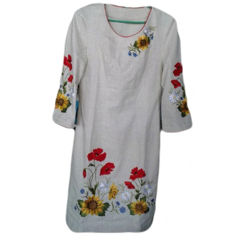 82ffd2aa86be00 Купити плаття ручної роботи: вишивка на льоні в інтернет-магазині 5 ...