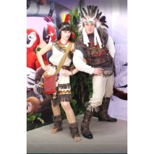 Карнавальний костюм Індіанців