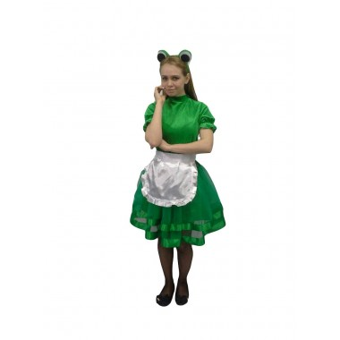Жіночий костюм карнавальний Жабка-скрекотушка