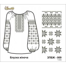Заготівля жіночого блузки під вишивку бісером ЗПБЖ-009