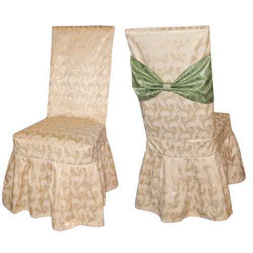 Чехол на стул из ткани